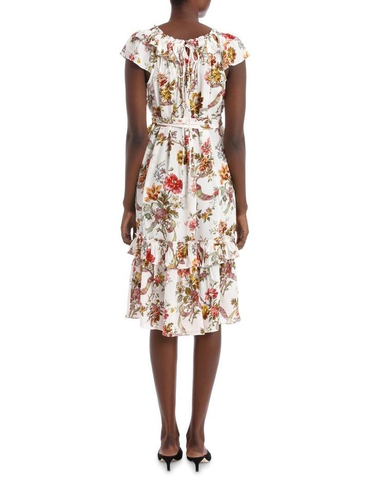 Rainbow Rose Tiered Dress. image 3