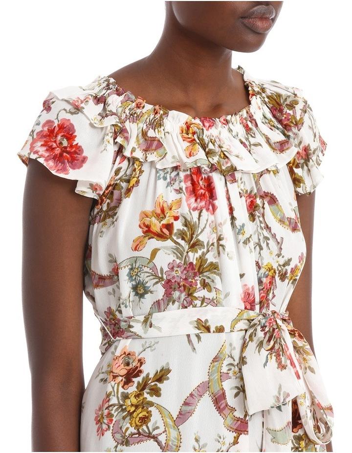 Rainbow Rose Tiered Dress. image 4