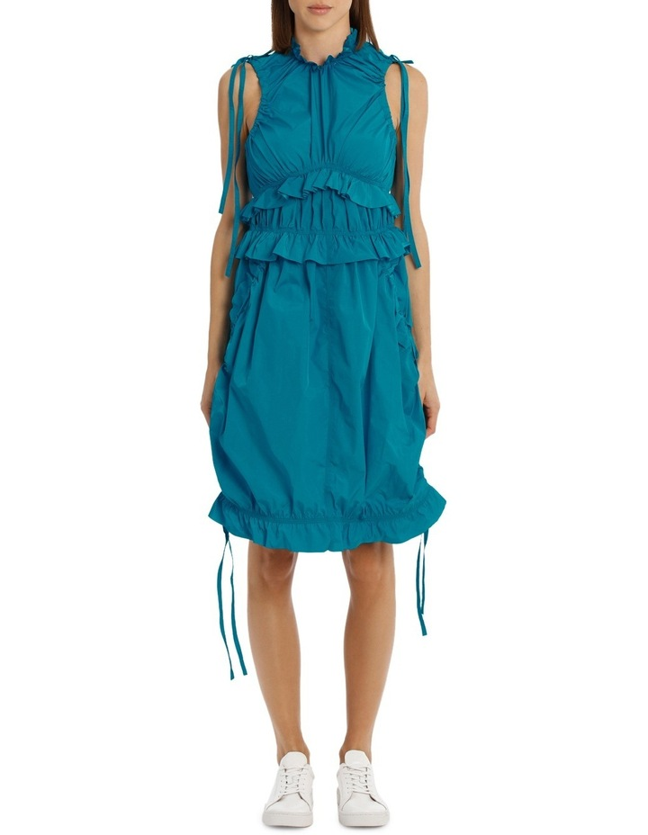 Dress With Ruffles/Drawstring image 1
