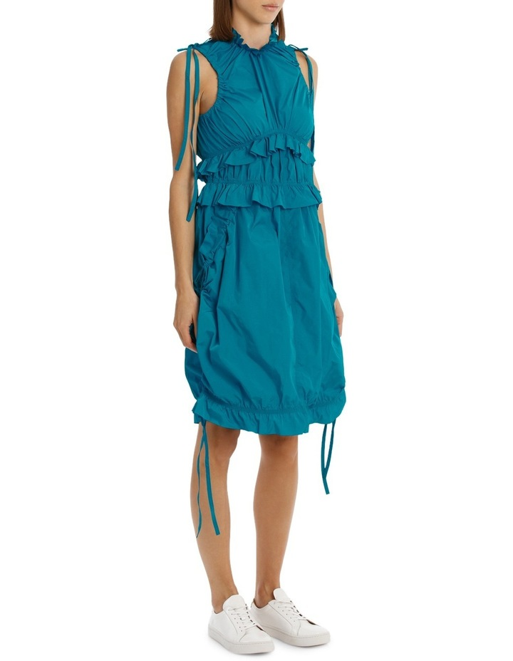 Dress With Ruffles/Drawstring image 2