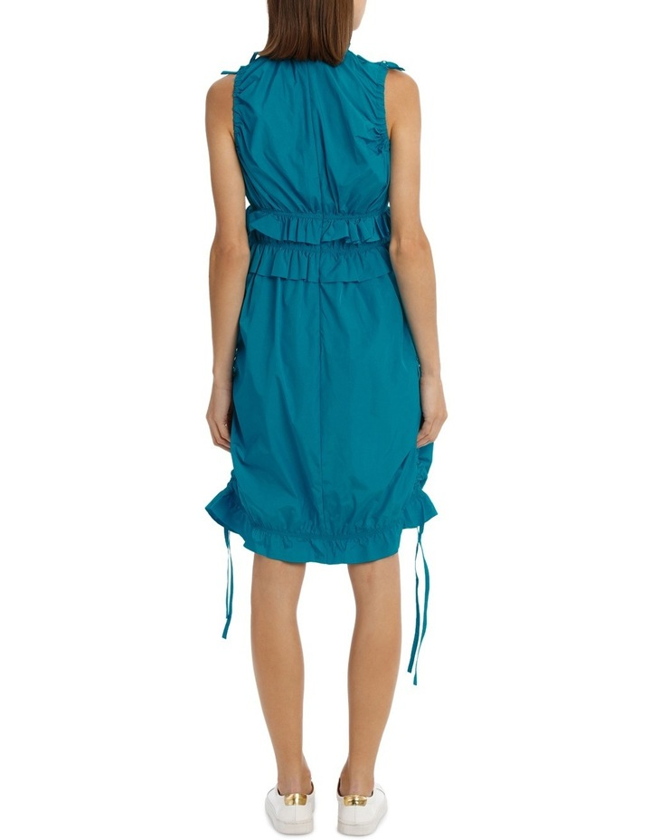 Dress With Ruffles/Drawstring image 3