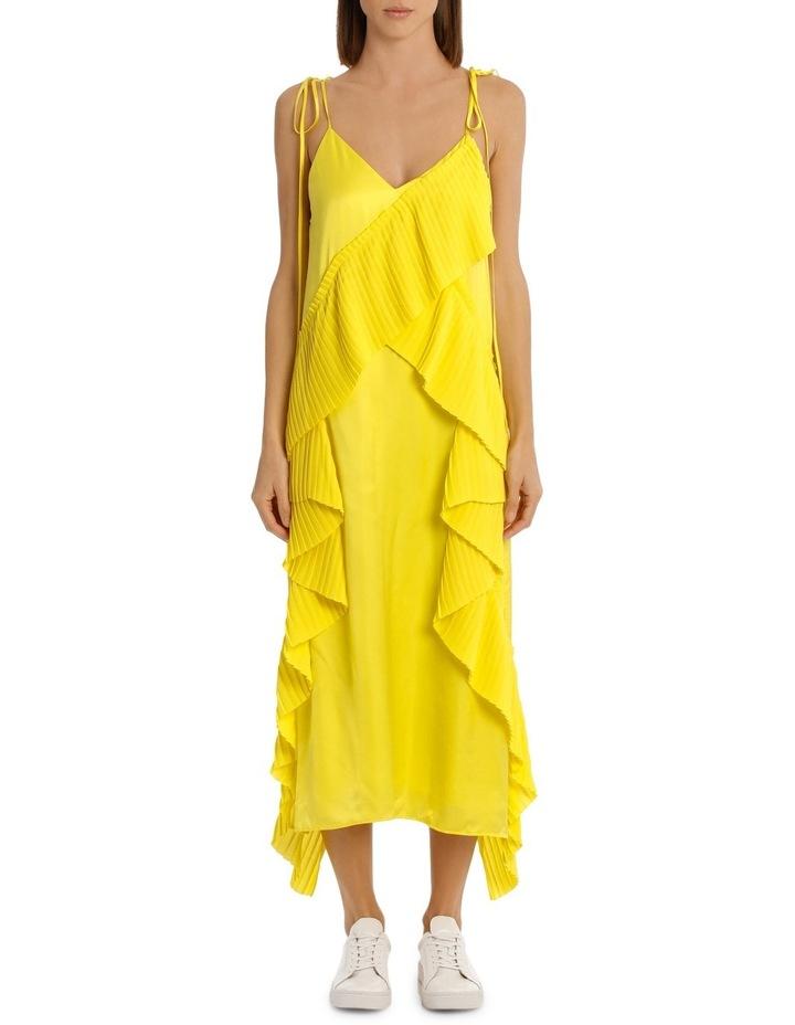 Ruffled Slip Midi Dress image 1