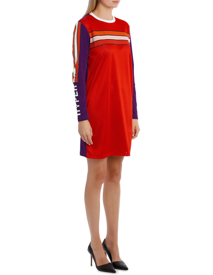 Patch Long Sleeves Dress image 2