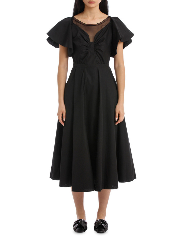 Black Midi Dress image 1