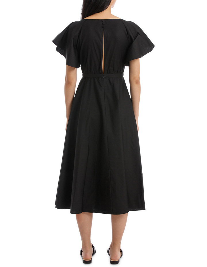Black Midi Dress image 3