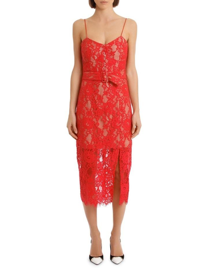 Rubie Lace Bra Dress Navy image 1