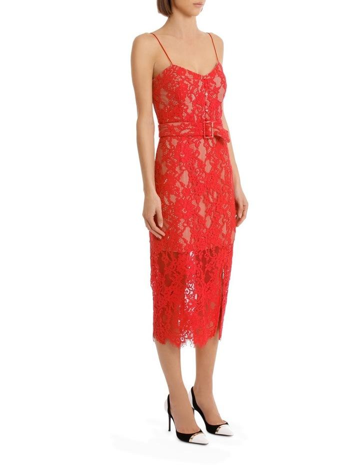Rubie Lace Bra Dress Navy image 2