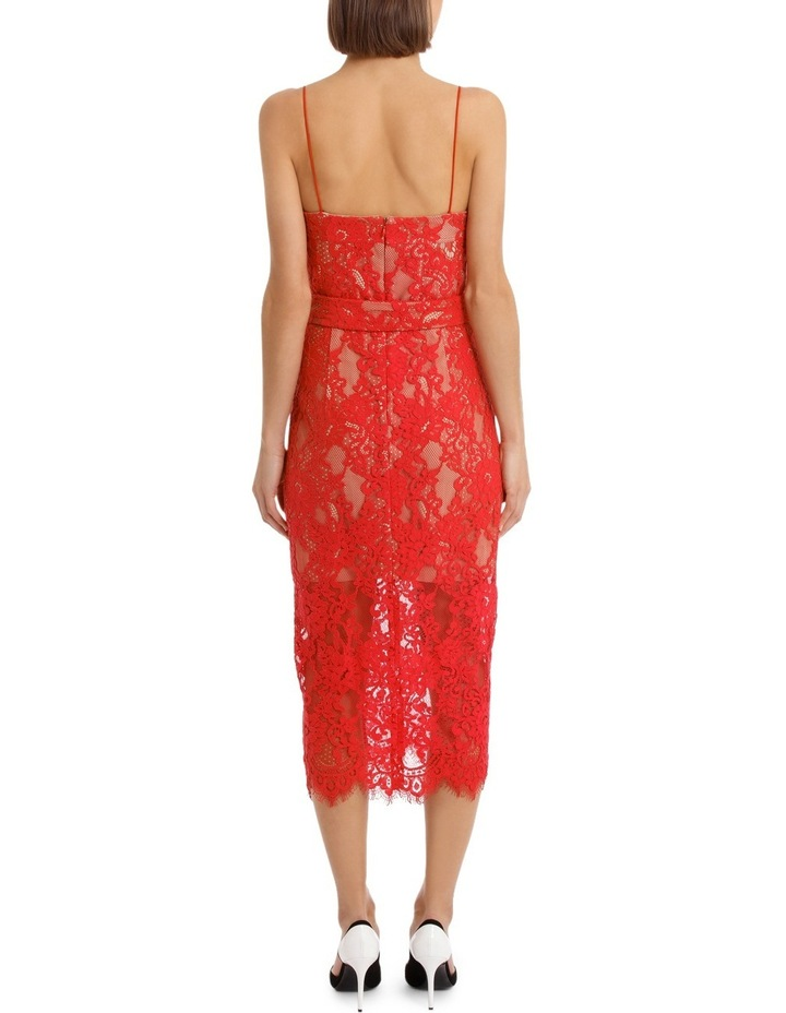 Rubie Lace Bra Dress Navy image 3