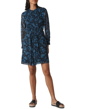 d86749992573d Whistles Pitti Print Shirt Dress
