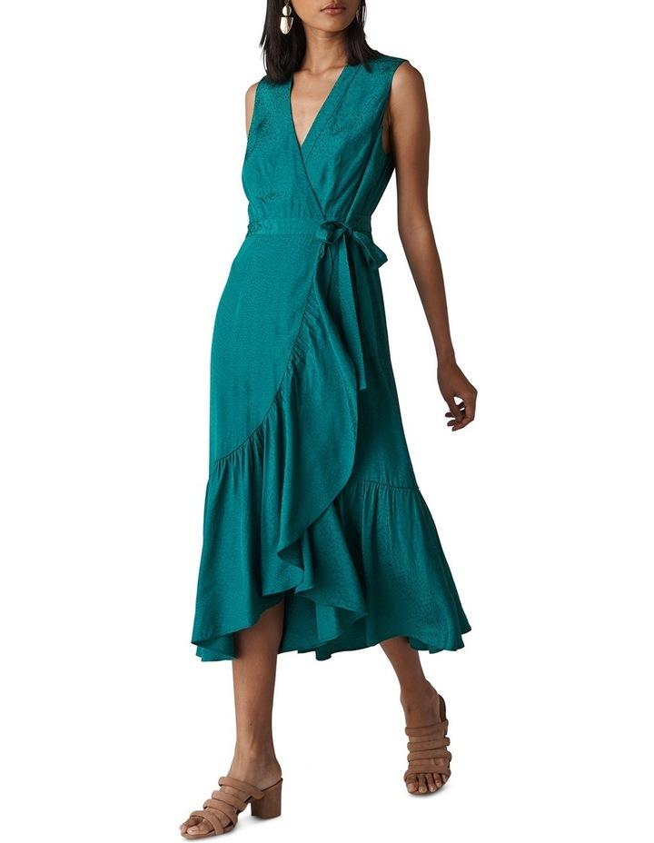 Francesca Jacquard Wrap Dress image 1