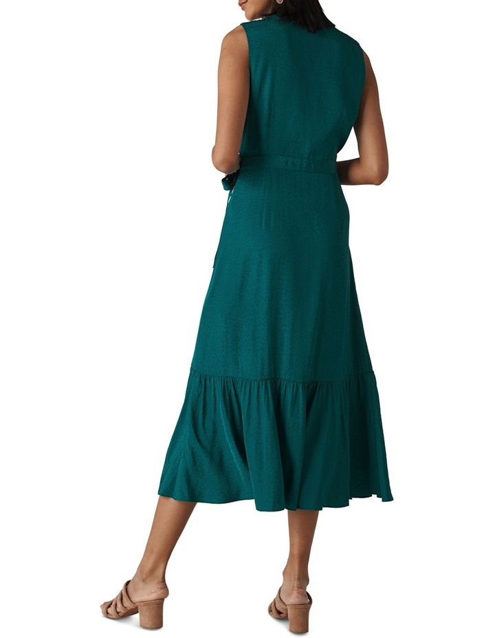 Francesca Jacquard Wrap Dress image 2