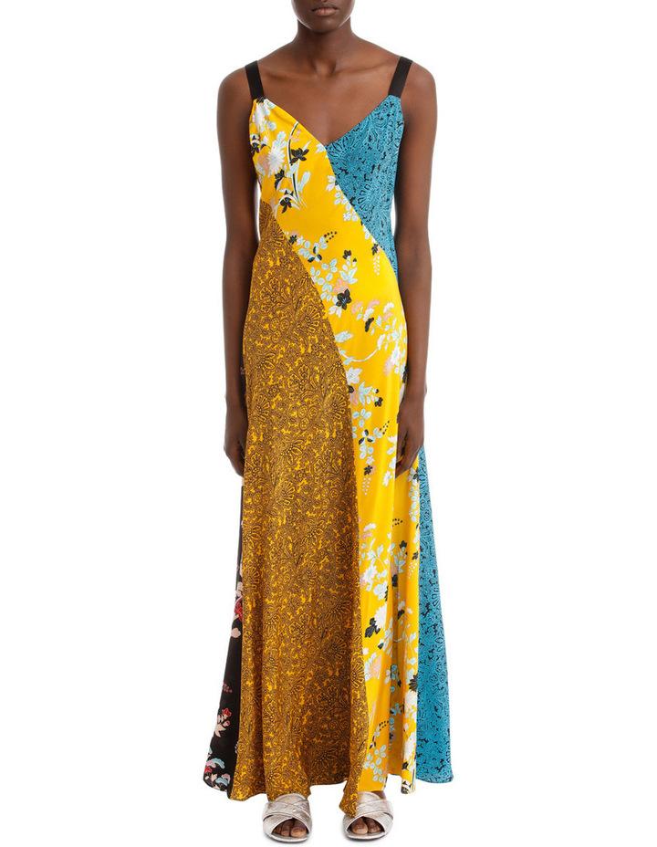 Paneled Maxi Dress image 1