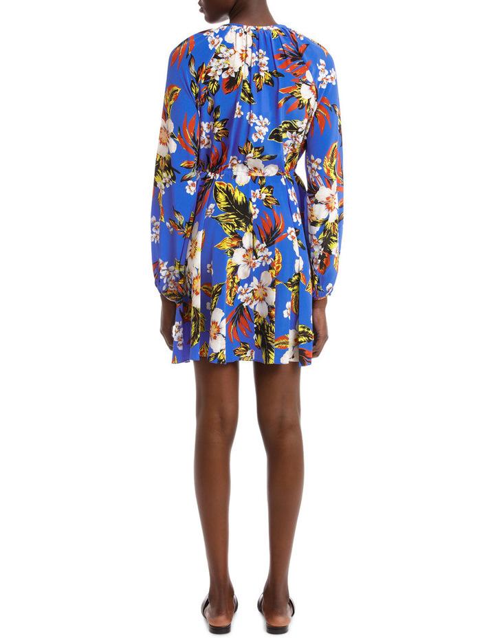 Long Sleeve High Neck Halter Dress image 3