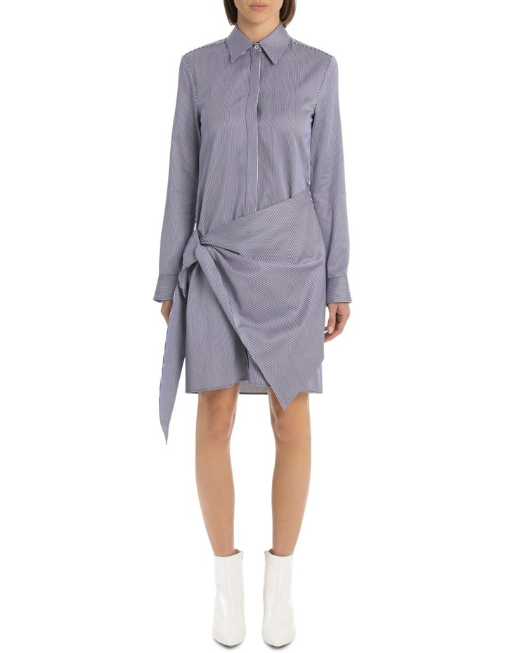 Front Tie Shirt Dress image 1