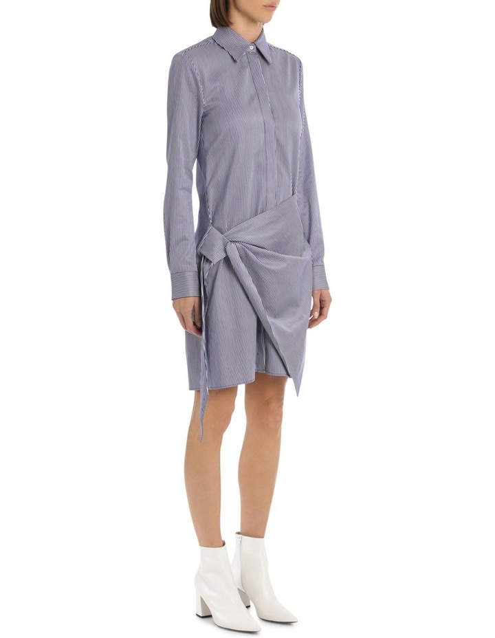 Front Tie Shirt Dress image 2