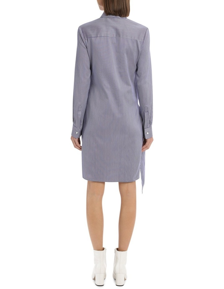 Front Tie Shirt Dress image 3
