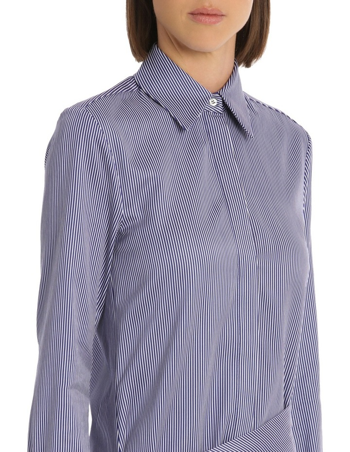 Front Tie Shirt Dress image 4