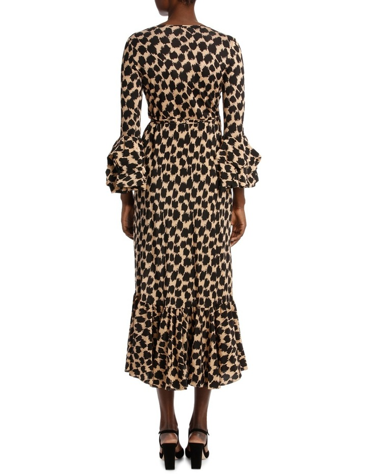 Ruffle Sleeve Wrap Dress image 3