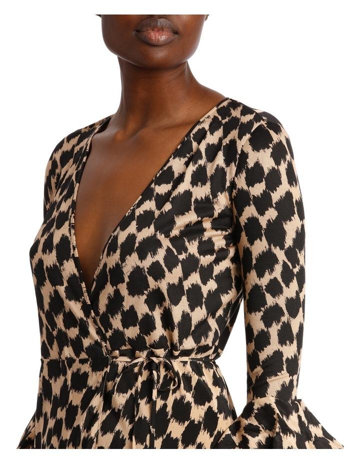 Ruffle Sleeve Wrap Dress image 4