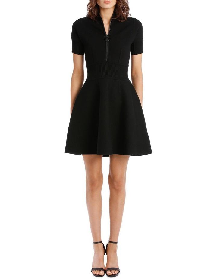 Rib Trim Dress image 1