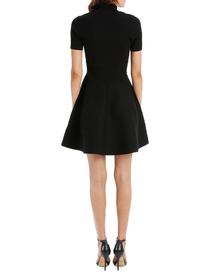 Rib Trim Dress image 3