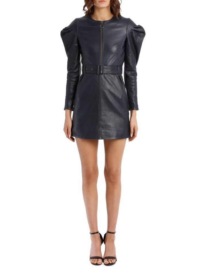 Drop Shoulder Tuck Sleeve Dress image 1