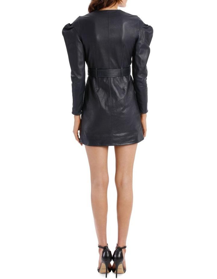 Drop Shoulder Tuck Sleeve Dress image 3