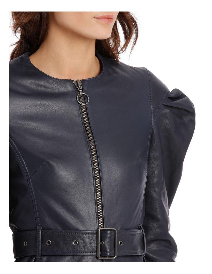 Drop Shoulder Tuck Sleeve Dress image 4