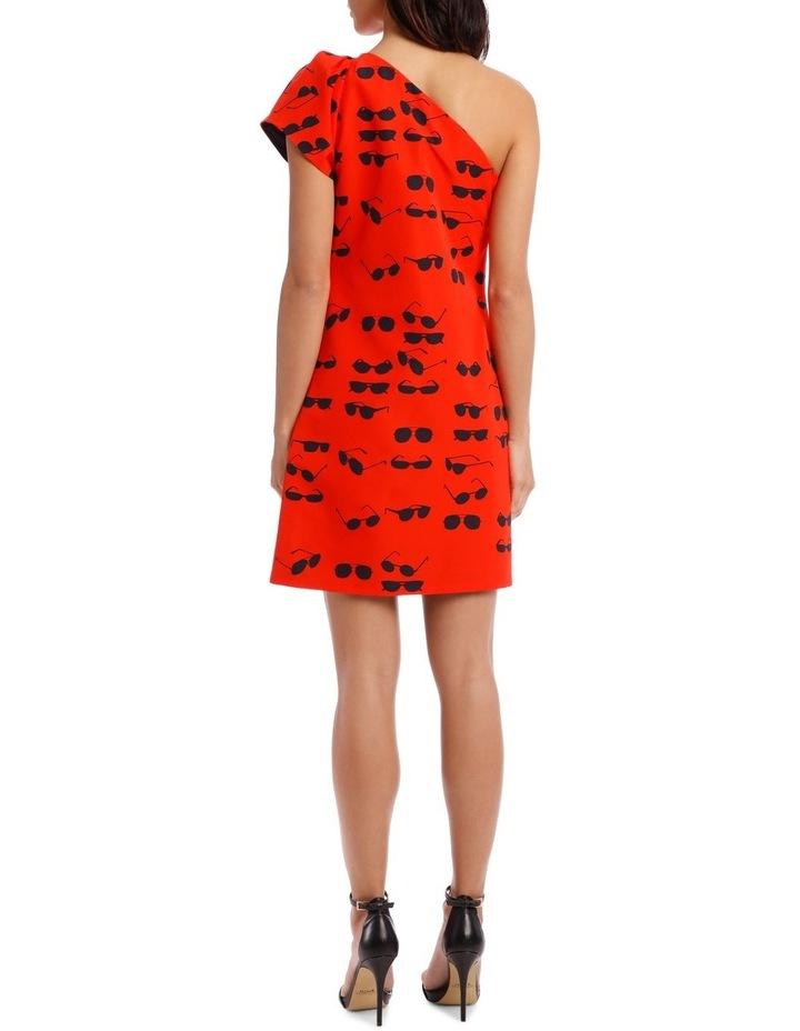 One Shoulder Tuck Dress image 3