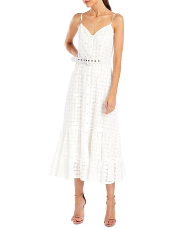 32928b2037 We Are KindredSookie Midi Dress in Ivory