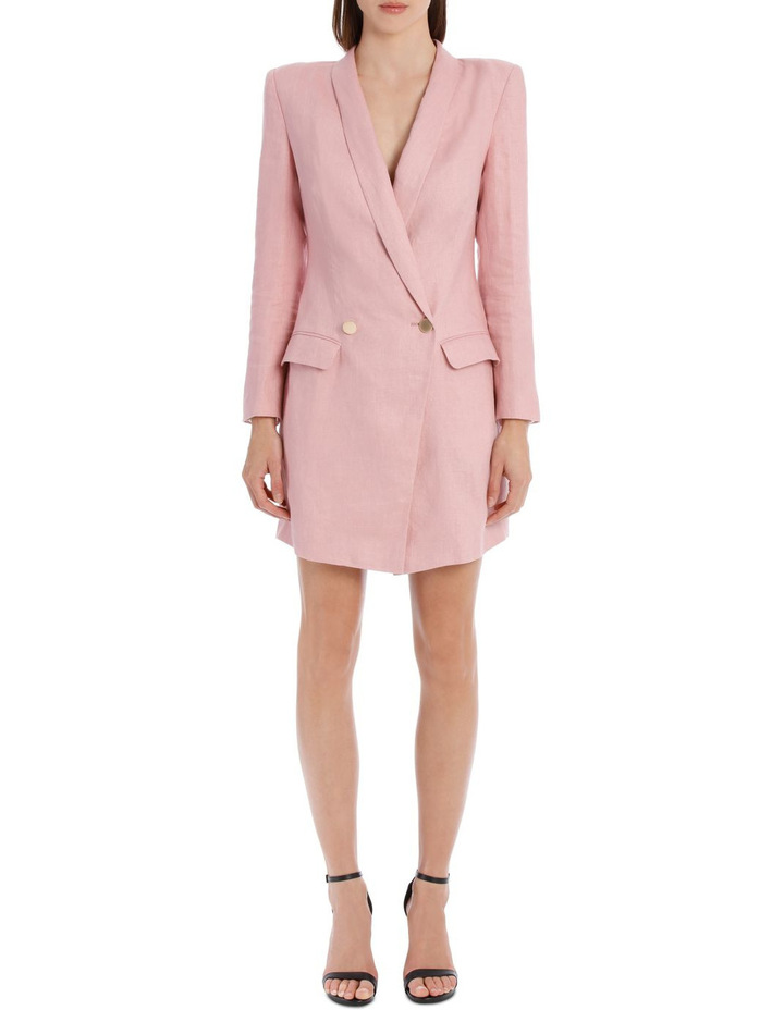 Linen Blazer Dress image 1