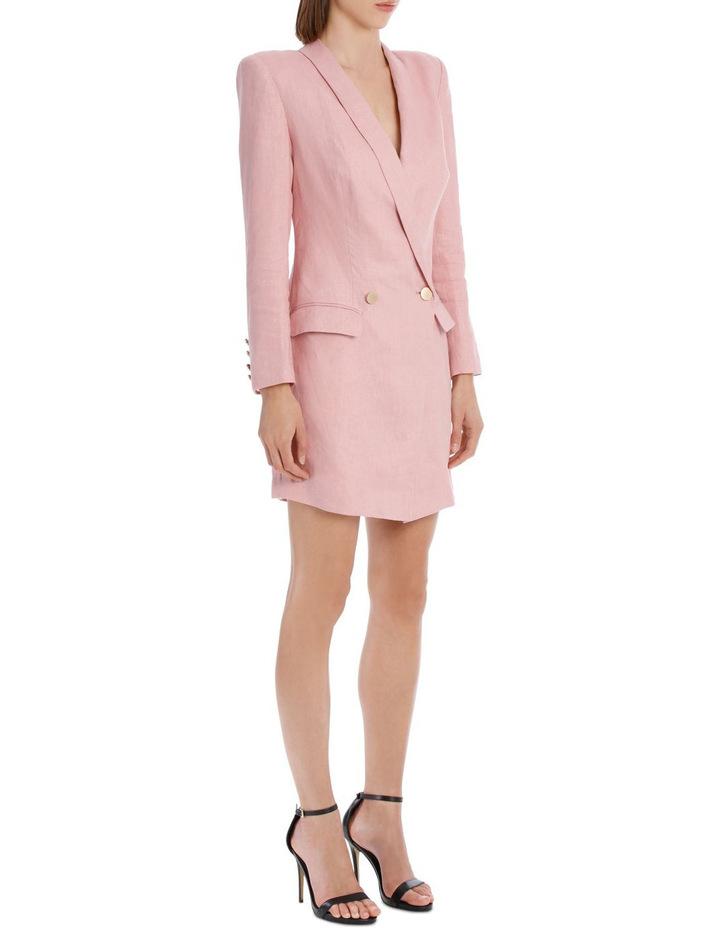 Linen Blazer Dress image 2