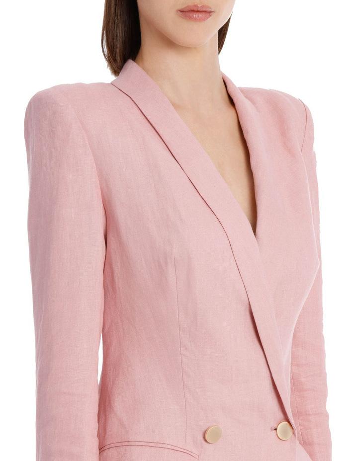 Linen Blazer Dress image 4