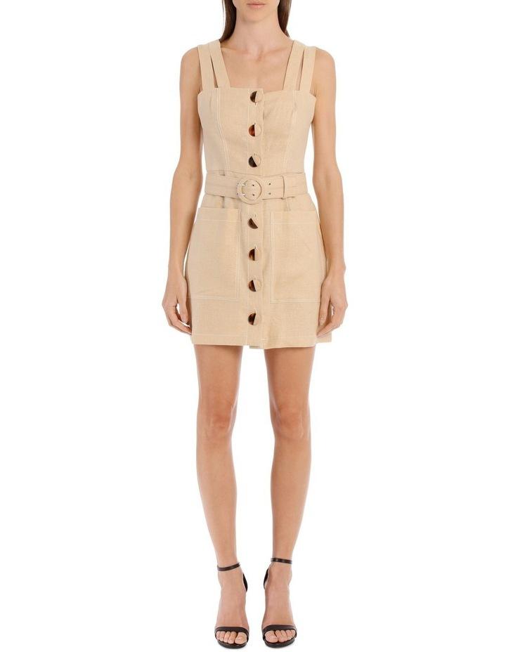 Button Double Strap Dress image 1