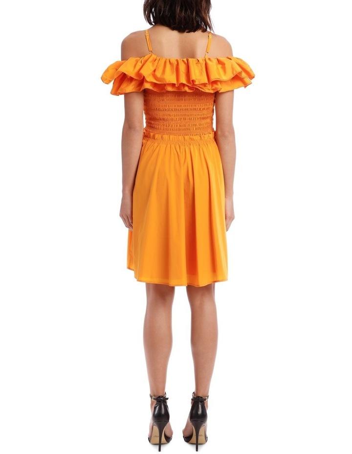 Ruffle Bustier Dress image 3