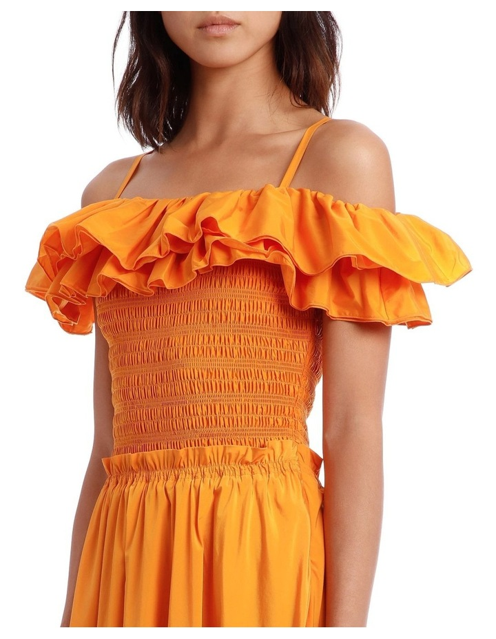 Ruffle Bustier Dress image 4