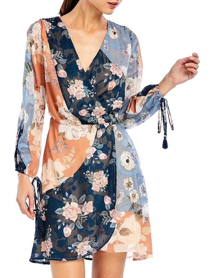 Janie Wrap Mini Dress image 1