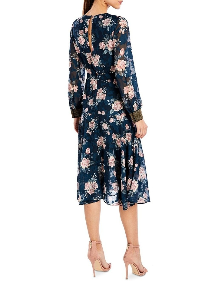 Lucille Midi Dress in Ink Rose image 2