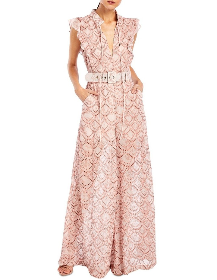 Mirabelle Frill Jumpsuit in Dewdrops image 1