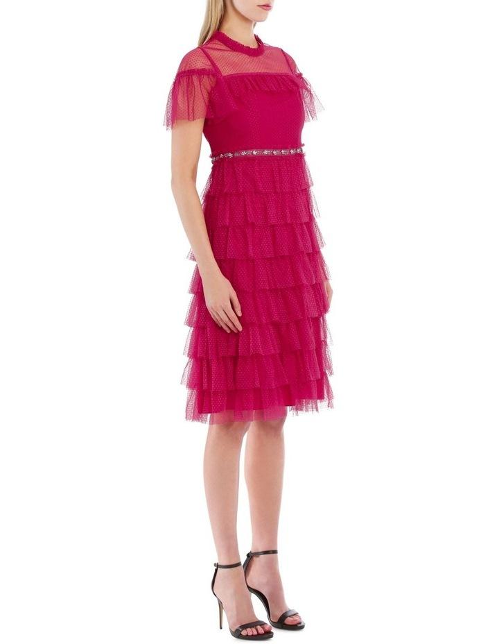Dotted Ruffle Dress image 2