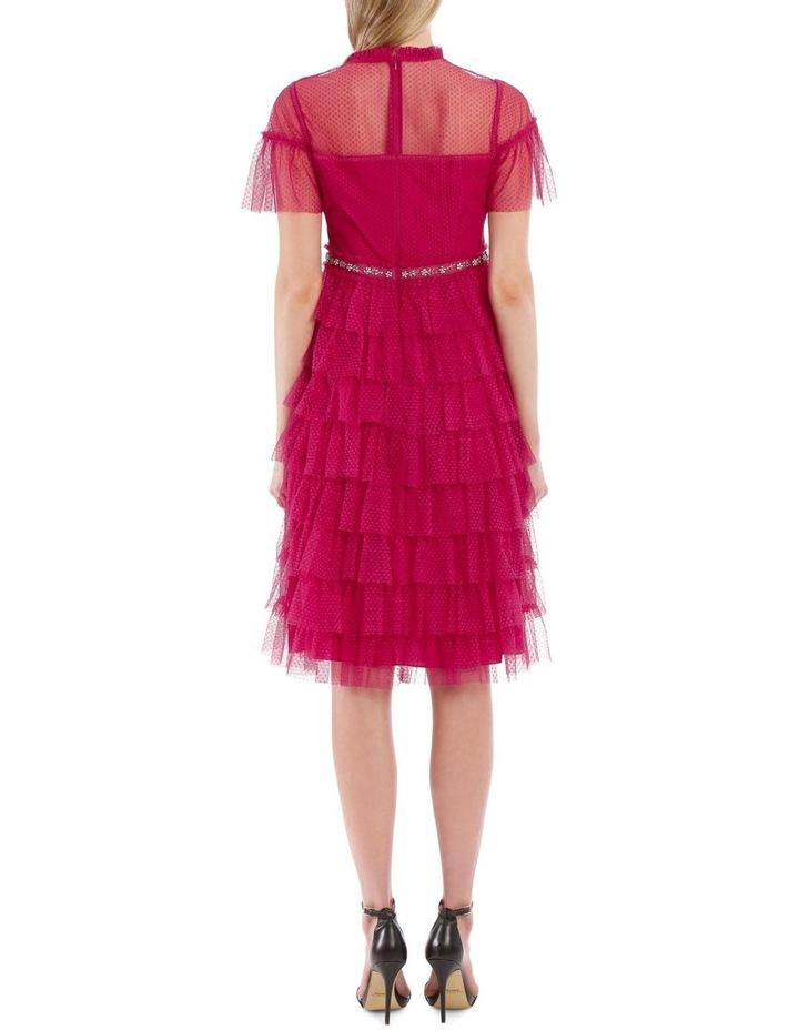 Dotted Ruffle Dress image 3