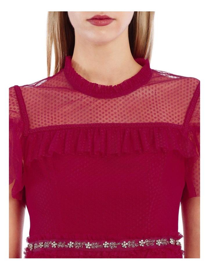 Dotted Ruffle Dress image 4