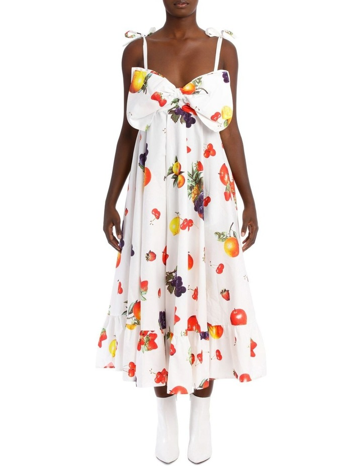 Cotton Dress with Bow image 1