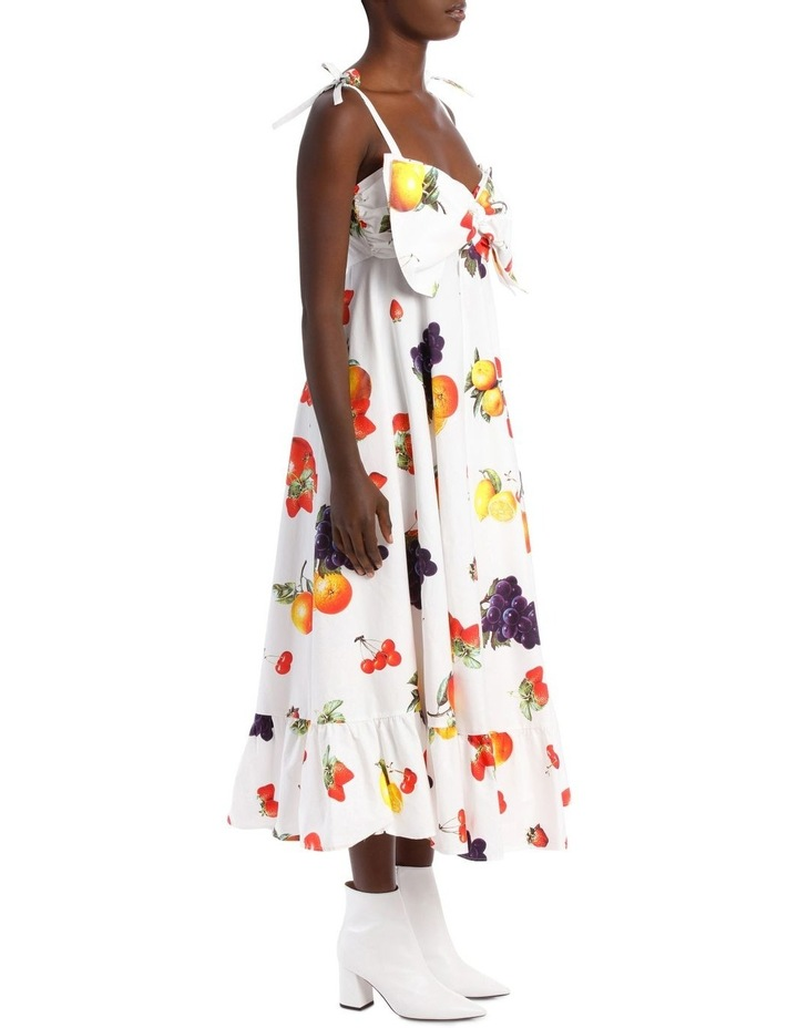 Cotton Dress with Bow image 2