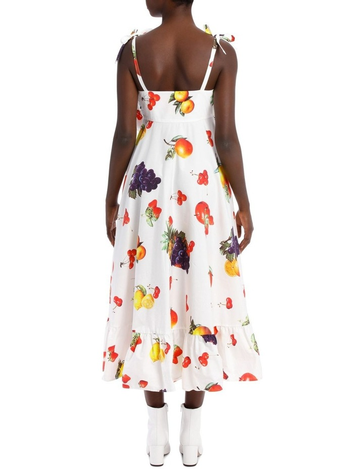 Cotton Dress with Bow image 3