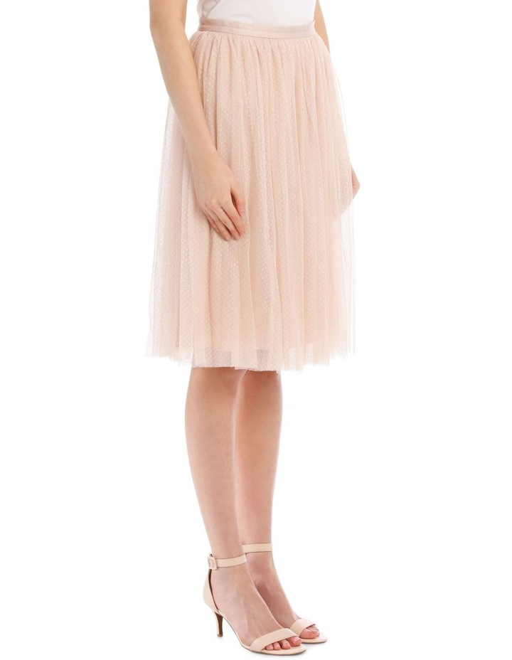 Dotted Tulle Midi Skirt image 2