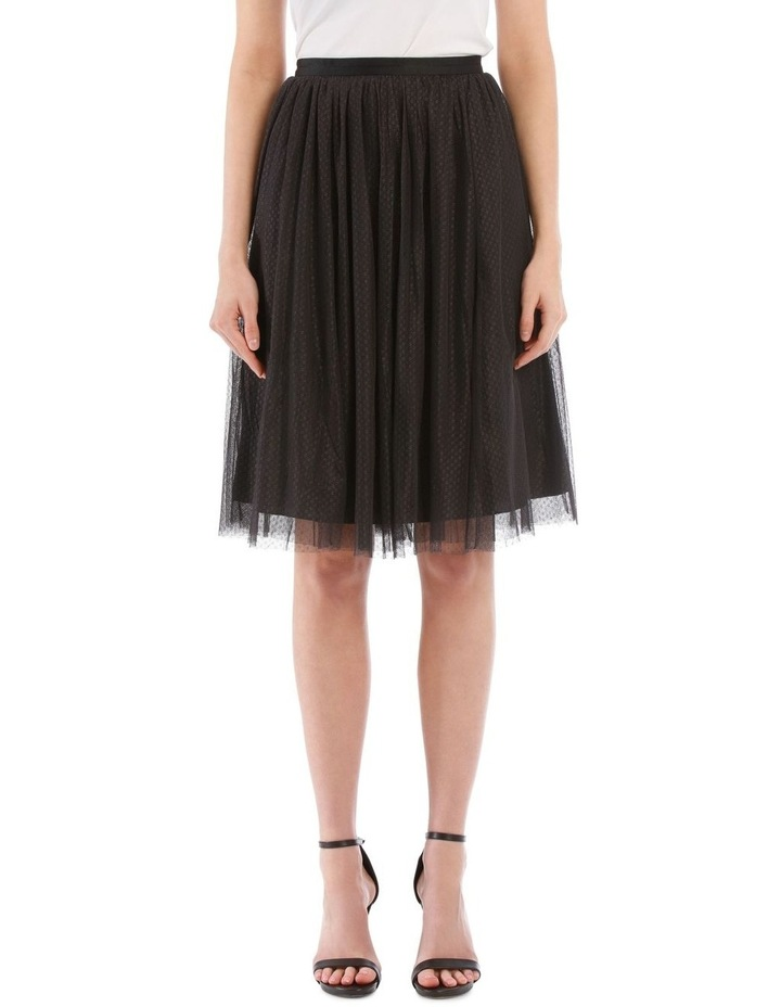 Dotted Tulle Midi Skirt image 1