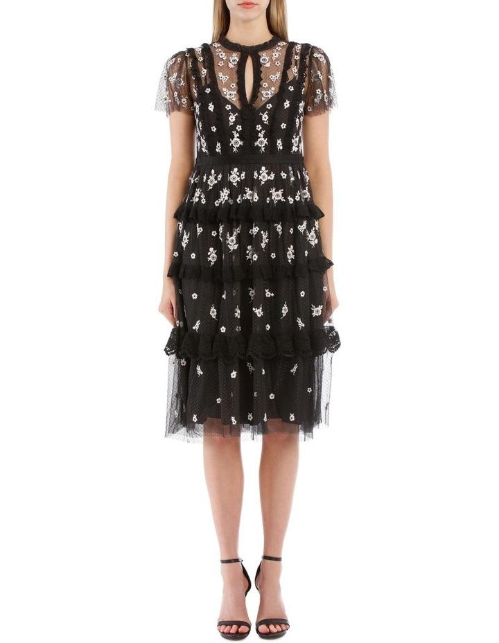 Monochrome Ditsy Dress image 1