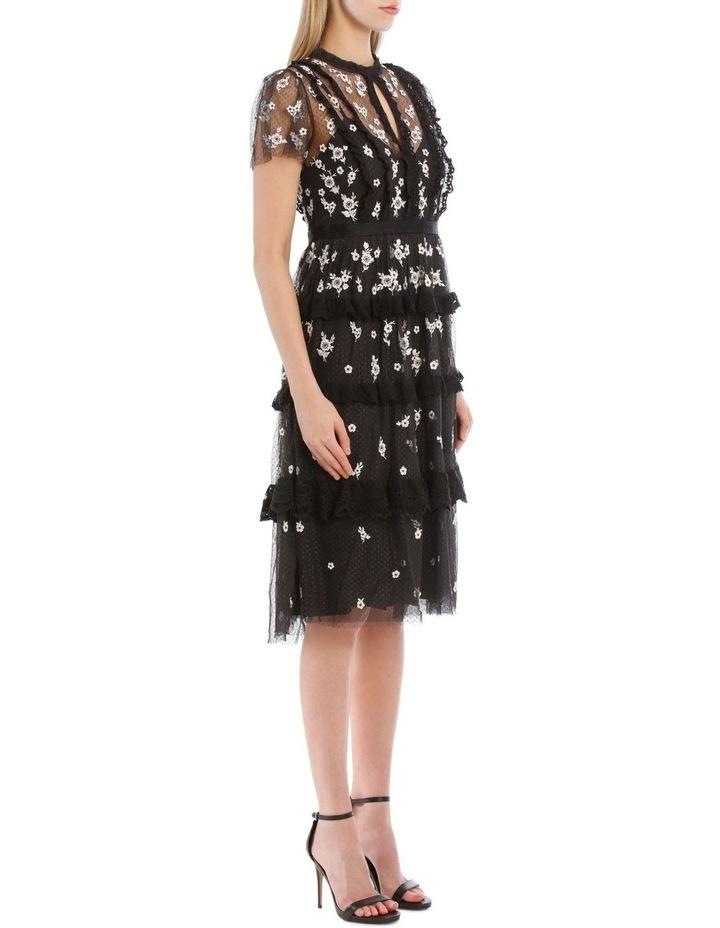 Monochrome Ditsy Dress image 2