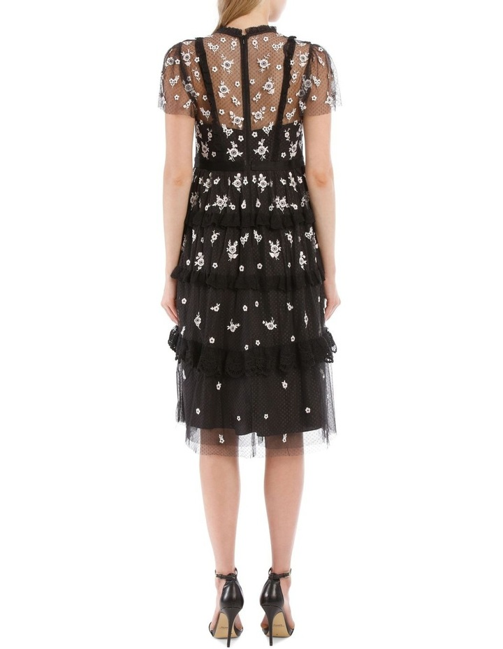Monochrome Ditsy Dress image 3
